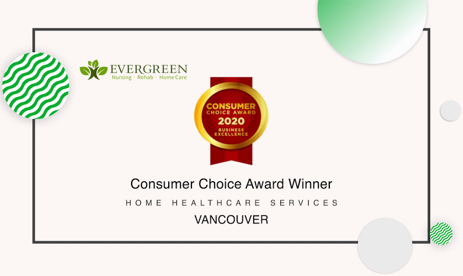 Consumer Choice Award 2020 -- Vancouver's Best Home Health Care Services